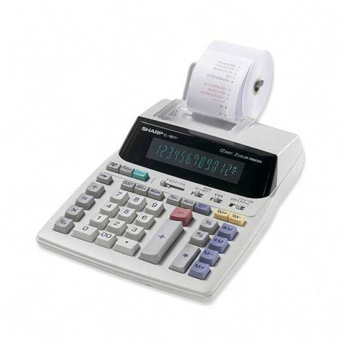 Sharp 12-Digit Calculator EL1801V SHREL1801V