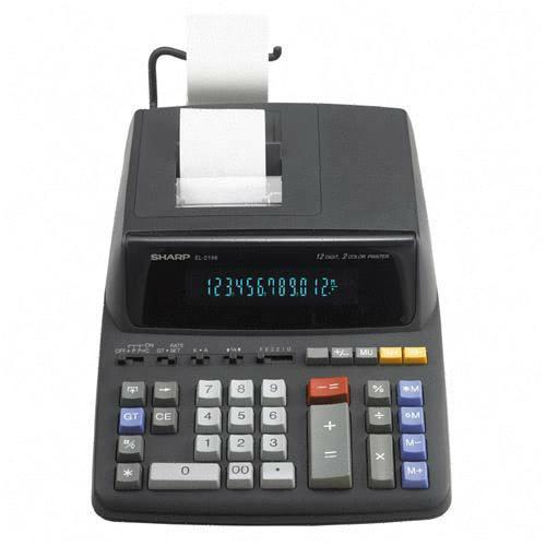 Sharp Printing Calculator EL2196BL SHREL2196BL