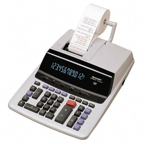 Sharp Commercial Print/Display Calculator VX2652H SHRVX2652H
