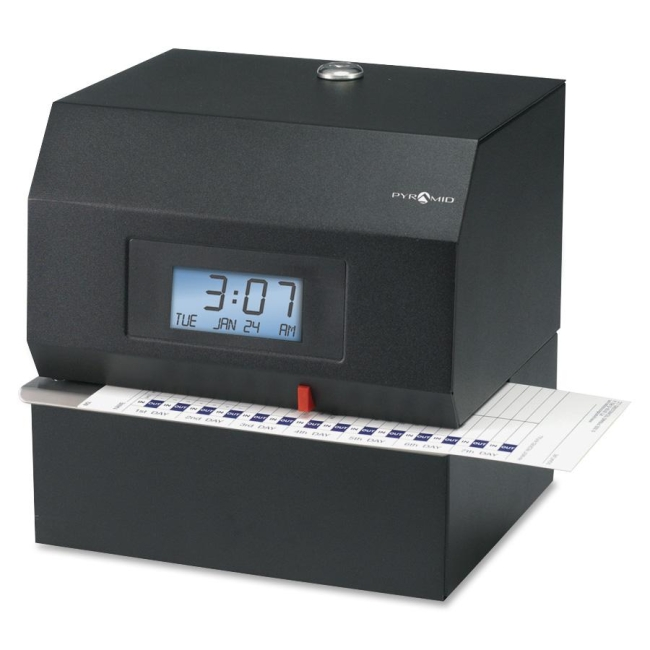 Pyramid Technologies Heavy-Duty Time and Document Recorder 3700 PTI3700