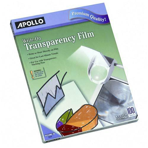 ACCO Write-On Transparency Film WO100CB APOWO100CB