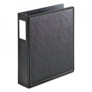 "Cardinal SuperLife Easy Open Locking Slant-D Ring Binder, 3 Rings, 2"" Capacity, 11 x 8.5, Black CRD14022 14022"