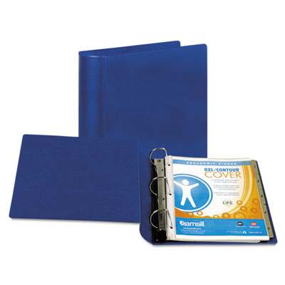 "Samsill Top Performance DXL Angle-D View Binder, 2"" Capacity, Dark Blue SAM17762 17762"