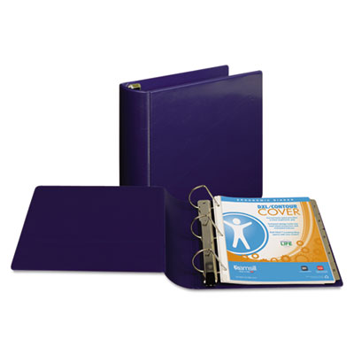 "Samsill Top Performance DXL Angle-D View Binder, 3"" Capacity, Dark Blue SAM17782 17782"
