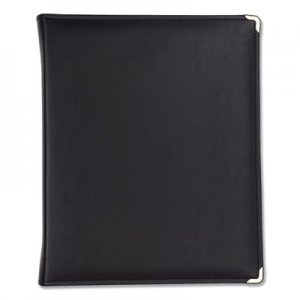 "Samsill Classic Collection Zippered Ring Binder, 11 x 8 1/2, 1 1/2"" Cap, Black SAM15250 15250"