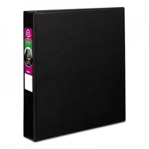 "Avery Durable Binder with Slant Rings, 11 x 8 1/2, 1 1/2"", Black AVE27350 27350"