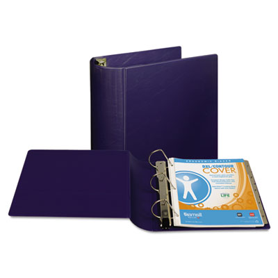 "Samsill Top Performance DXL Angle-D View Binder, 4"" Capacity, Dark Blue SAM17792 17792"