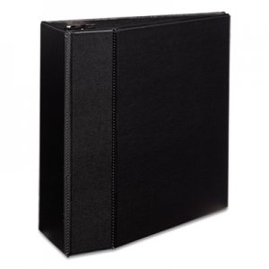 "Avery Durable Binder with Two Booster EZD Rings, 11 x 8 1/2, 5"", Black AVE07901 07901"