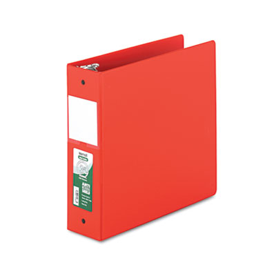 "Samsill Clean Touch Locking Round Ring Reference Binder Protected w/Antimicrobial Additive, 3 Rings, 3"" Capacity, 11 x 8.5"
