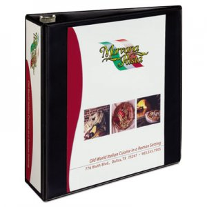 "Avery Heavy-Duty Non Stick View Binder with DuraHinge and Slant Rings, 3 Rings, 3"" Capacity, 11 x 8.5"