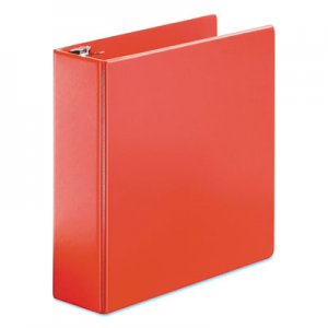 "Cardinal SuperStrength Locking Slant-D Ring Binder, 3 Rings, 3"" Capacity, 11 x 8.5, Red CRD11652 11652V3"