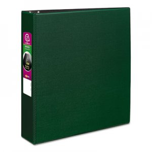 "Avery Durable Binder with Slant Rings, 11 x 8 1/2, 2"", Green AVE27553 27553"