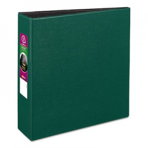 "Avery Durable Binder with Slant Rings, 11 x 8 1/2, 3"", Green AVE27653 27653"