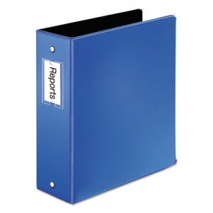 "Cardinal Premier Easy Open Locking Round Ring Binder, 3"" Cap, 11 x 8 1/2, Medium Blue CRD18847 18847CB"