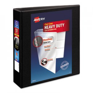 "Avery Heavy-Duty Non Stick View Binder with DuraHinge and Slant Rings, 3 Rings, 2"" Capacity, 11 x 8.5"