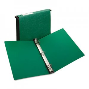 "Avery Hanging Storage Flexible Non-View Binder with Round Rings, 3 Rings, 1"" Capacity, 11 x 8.5, Green AVE14802"
