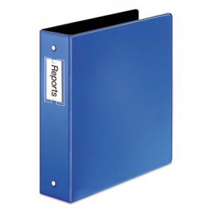 "Cardinal Premier Easy Open Locking Round Ring Binder, 3 Rings, 2"" Capacity, 11 x 8.5, Medium Blue CRD18837 18837"