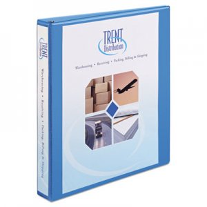 "Avery Heavy-Duty Non Stick View Binder with DuraHinge and Slant Rings, 3 Rings, 1"" Capacity, 11 x 8.5"