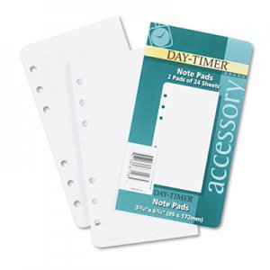 Day-Timer Loose-Leaf Lined Pages, 3 3/4 x 6 3/4 DTM87128 87128