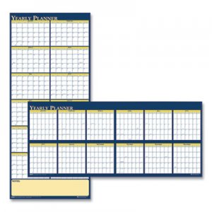 House of Doolittle Recycled Reversible Yearly Wall Planner, 60 x 26, 2020 HOD3974 3974