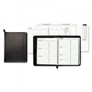 Day-Timer Basque Bonded Leather Starter Set, 8 1/2 x 11 DTM85457 85457