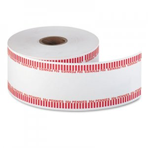 Pap-R Products Automatic Coin Rolls, Pennies, $.50, 1900 Wrappers/Roll CTX50001 50001