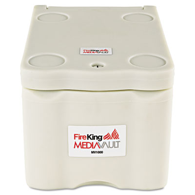 FireKing MediaVault, .2 ft3, 11-5/8w x 17-1/2d x 10-1/2h, UL Listed 125 for Fire