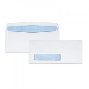 Quality Park Window Envelope, Address Window, #9, 3 7/8 x 8 7/8, White, 500/Box QUA21212