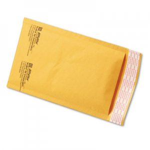 Sealed Air Jiffylite Self Seal Mailer, #00, 5 x 10, Golden Brown, 250/Carton SEL39091 39091