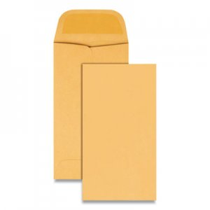 Quality Park Kraft Coin & Small Parts Envelope, #5, 2 7/8 x 5 1/4, Brown Kraft, 500/Box QUA50462