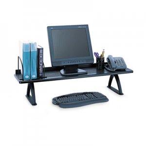 Safco Value Mate Desk Riser, 100-Pound Capacity, 42 x 12 x 8, Black SAF3603BL 3603BL