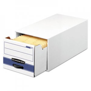 """Bankers Box STOR/DRAWER STEEL PLUS Extra Space-Savings Storage Drawers, Letter Files, 10.5"""" x 25.25"""" x 6"""