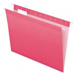 Pendaflex Reinforced Hanging Folders, 1/5 Tab, Letter, Pink, 25/Box PFX415215PIN 04152 1/5 PIN
