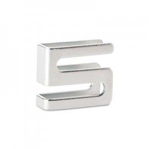 Alera Wire Shelving S Hooks, Metal, Silver, 4 Hooks/Pack ALESW59SHSR