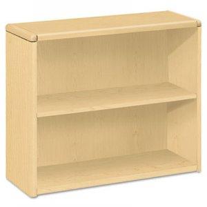HON 10700 Series Wood Bookcase, Two Shelf, 36w x 13 1/8d x 29 5/8h, Natural Maple HON10752DD H10752