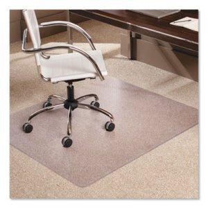 "ES Robbins 46x60 Rectangle Chair Mat, Multi-Task Series AnchorBar for Carpet up to 3/8"" ESR128371 128371"