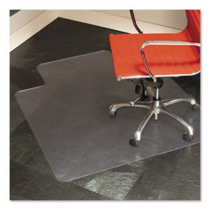 ES Robbins 45x53 Lip Chair Mat, Multi-Task Series for Hard Floors, Heavier Use ESR132123 132123