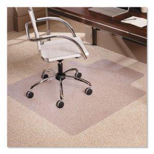 """ES Robbins 45x53 Lip Chair Mat, Multi-Task Series AnchorBar for Carpet up to 3/8"""" ESR128173 128173"""