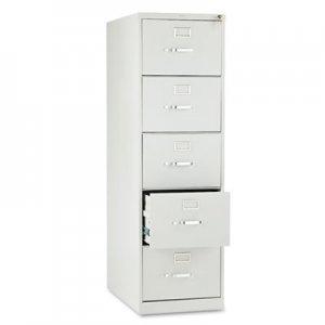 HON 210 Series Five-Drawer, Full-Suspension File, Legal, 28-1/2d, Light Gray HON215CPQ H215C.P.Q