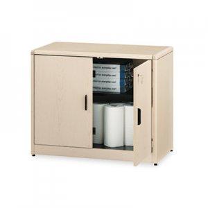 HON 10700 Series Locking Storage Cabinet, 36w x 20d x 29 1/2h, Natural Maple HON107291DD H107291.DD