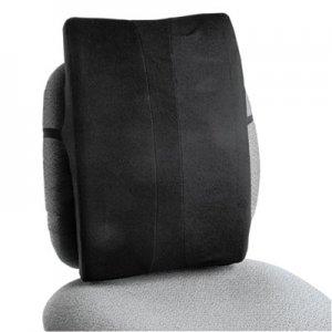 Safco Remedease Full Height Backrest, 14w x 3d x 19.5h, Black SAF71301 71301