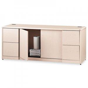 HON 10700 Series Credenza w/Doors, 72w x 24d x 29.5h, Natural Maple HON10742DD H10742.DD