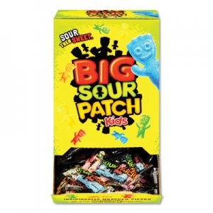 Sour Patch Kids Fruit Flavored Candy, Grab-and-Go, 240-Pieces/Box CDB43147 00 70462 43147 00