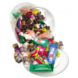 Office Snax Soft and Chewy Mix, Assorted Soft Candy, 2 lb Resealable Plastic Tub OFX00013 00013