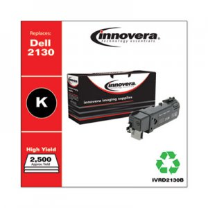 Innovera Remanufactured 330-1436 (2130) High-Yield Toner, 2500 Page-Yield, Black IVRD2130B