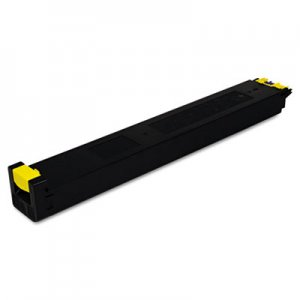 Sharp MX27NTYA Toner, 15000 Page-Yield, Yellow SHRMX27NTYA MX27NTYA