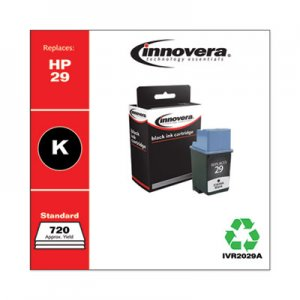 Innovera Remanufactured 51629A (29) Ink, 720 Page-Yield, Black IVR2029A