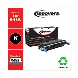 Innovera Remanufactured C9720A (641A) Toner, 9000 Page-Yield, Black IVR83720