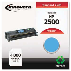 Innovera Remanufactured Q3971A (123A) Toner, 4000 Page-Yield, Cyan IVR83971
