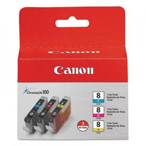 Canon ChromaLife100+ Ink, Cyan/Magenta/Yellow, 3/PK CNM0621B016 0621B016